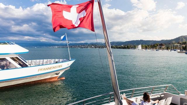 Ausflug mit der Zürichsee Schifffahrt Gesellschaft